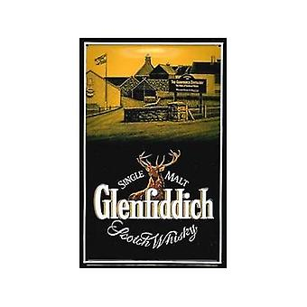 Glenfiddich Distillery Embossed Steel Wall Sign