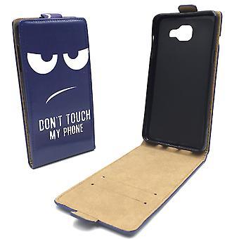Handyhülle Tasche für Handy Samsung Galaxy A5 2016 Dont Touch my Phone