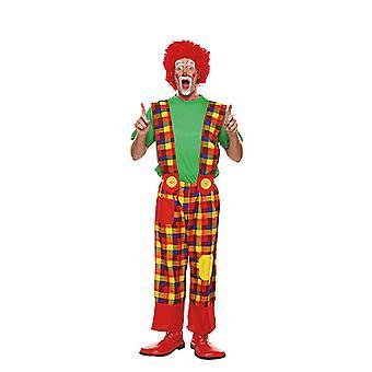 Clownhose mannen kostuum circus carnaval dwaas