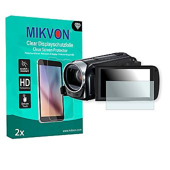 Canon Legria HF R46 Screen Protector - Mikvon Clear (Retail Package with accessories)