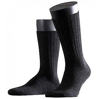 Falke Nelson Midcalf Socks  - Anthracite