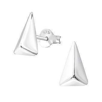 Triangolo - 925 Sterling Silver pianura orecchini - W37332X