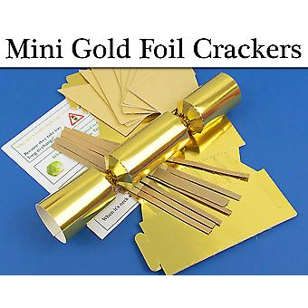 Gold Foil MINI Make & Fill Your Own Cracker Making Craft Kits & Boards