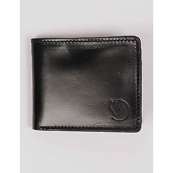 Fjallraven Ovik Wallet - Black Leather
