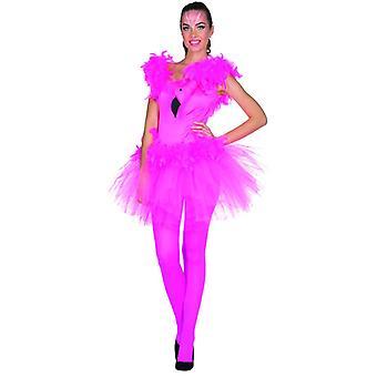 Flamingo dress ladies Carnival bird costume pink