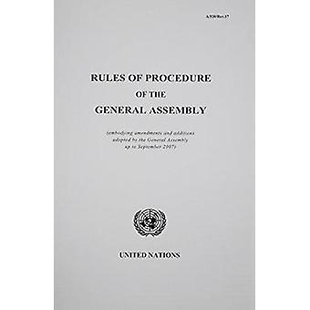 Rules of Procedure of the General Assembly - (Embodying Amendments and