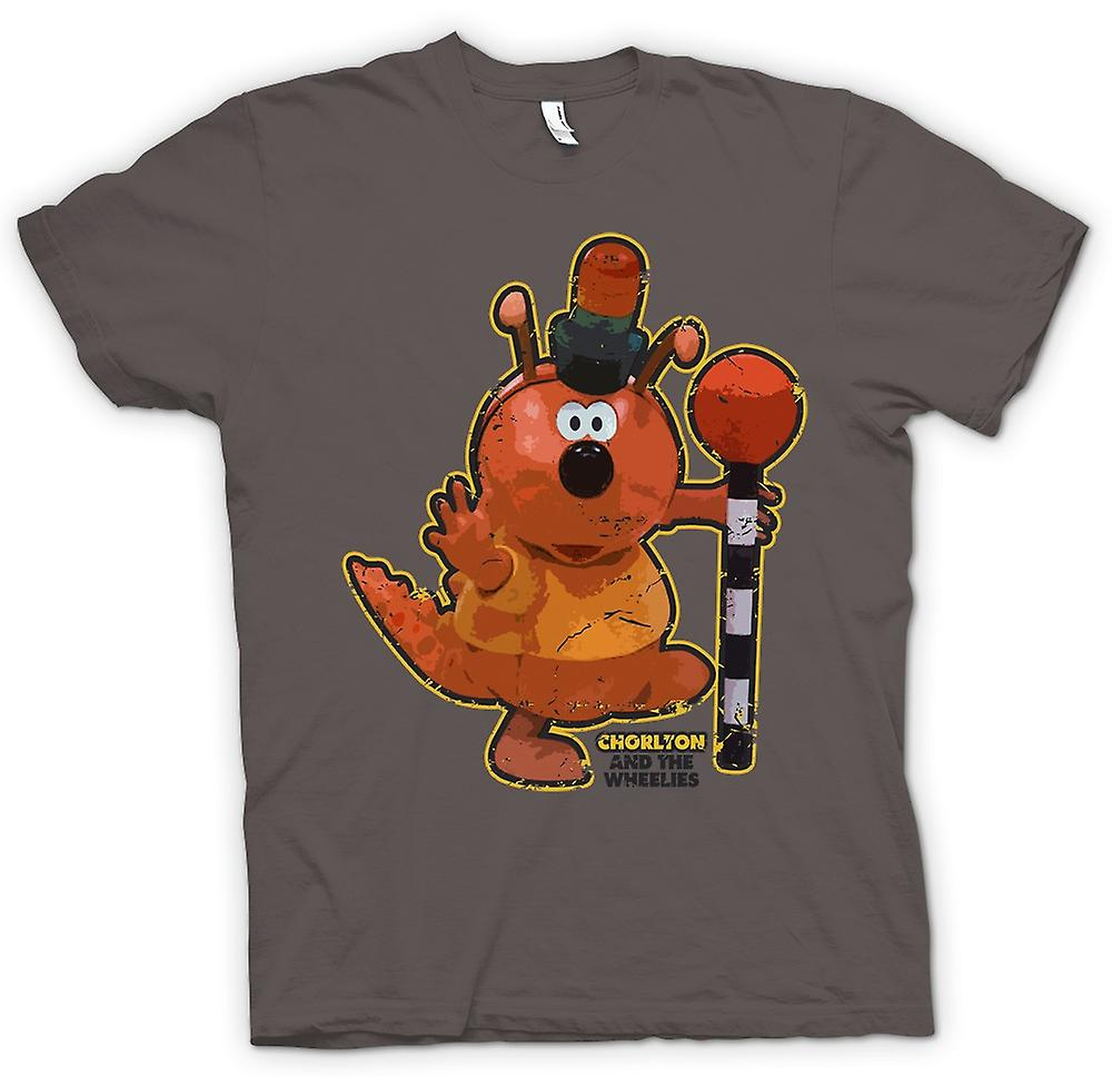 Womens T-shirt - Chorlton - Chorlton And The Wheelies - Retro