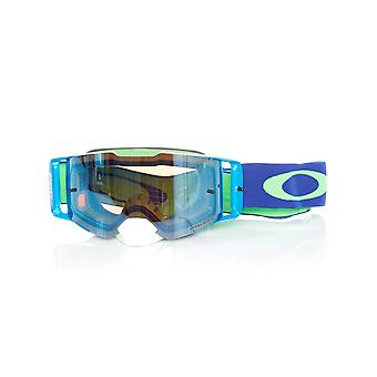 Oakley Green-Blue Front Line MX Goggle