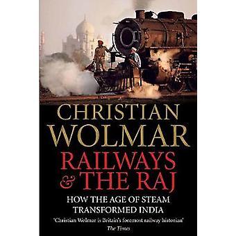 Caminhos de ferro e o Raj por Christian Wolmar - livro 9780857890641