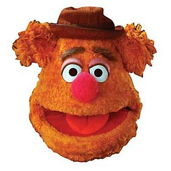 Fozzie Bear Card Face Mask (The Muppets)