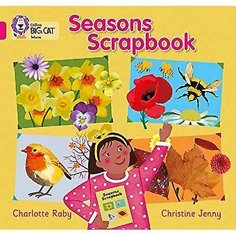 Collins Big Cat - Seasons Scrapbook: Pink B/ Band 1B