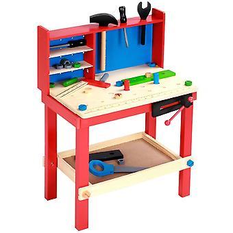 Établis pour enfants atelier avec outils et accessoires inclus 0101032