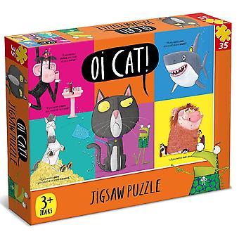Paul Lamond Oi Cat 35 stuk puzzel