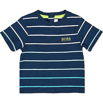 Hugo Boss-Boys Hugo Boss infanti Teal t-shirt