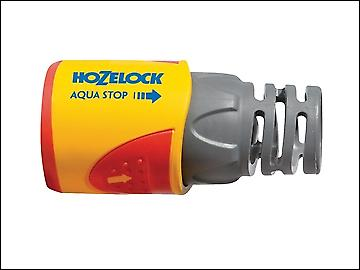 Hozelock 2055 Aquastop Hose Connector  for 12.5-15 mm (1/2 in & 5/8 in) Hose