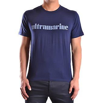 Marc Jacobs Blue Cotton T-shirt
