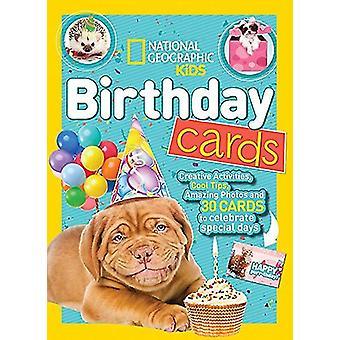 National Geographic Kids födelsedagkort (aktivitetsböcker) av nationella