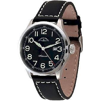 Zeno-watch montre pilote retro Tre automatique 6569-2824-a1