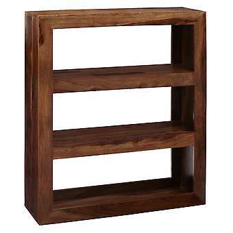 Oslo Sheesham Low Bookcase/Multishelf