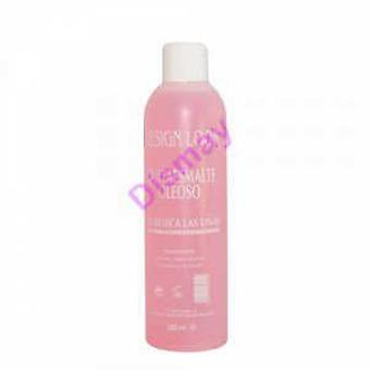 Design Look Oily Nail Polish Remover 250 Ml (Makeup , Nails , Nails' remover)