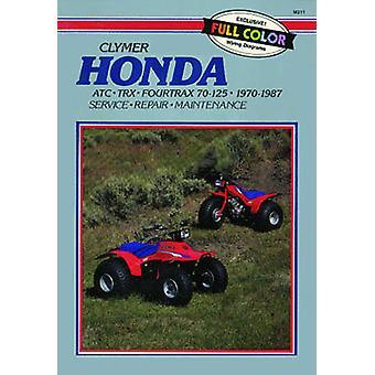 Honda ATC.TRX Fourtrax 70-125 - 1970-87 - Clymer Workshop Manual (Clym