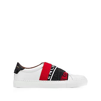 Givenchy Webbing White Leather Sneakers