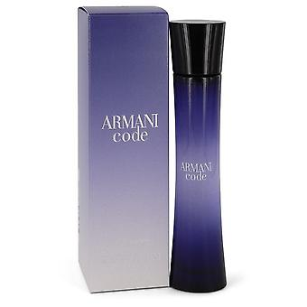 Armani Code by Giorgio Armani Eau De Parfum Spray 1.7 oz / 50 ml (Women)
