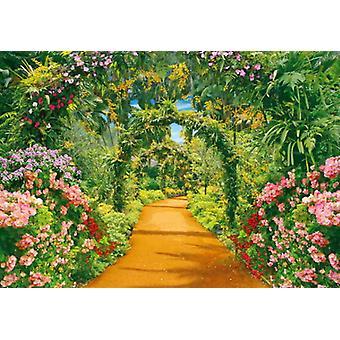 Papier peint mural Flower Alley