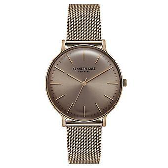 Kenneth Cole New York men's wrist watch analog quartz stainless steel KC15183002