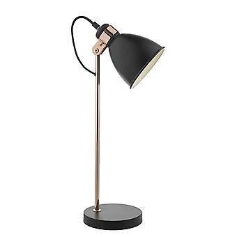 Frederick Task lamp zwart & koper