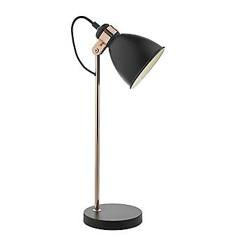 Frederick Task lampa svart & koppar