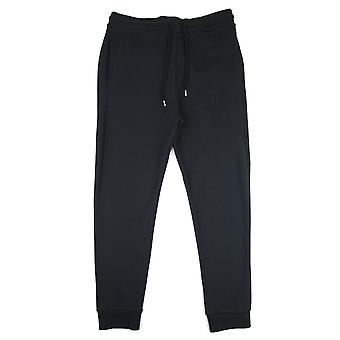 Love Moschino In rilievo Pace Logo Tracksuit Pantaloni Nero