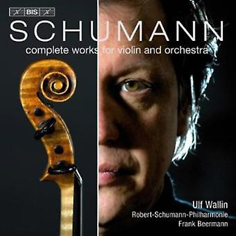 R. Schumann - Schumann: Complete Works for Violin and Orchestra [SACD] USA import