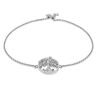 Tuscany Silver Woman 925 Silver Round White Cubic Zirconia