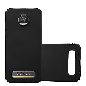 Cadorabo Case for Motorola MOTO Z2 PLAY Case Cover - Hardcase Plastic Phone Case Against Scratches and Bumps - Protective Case Bumper Ultra Slim Back Case Hard Cover