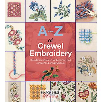 Search Press Books-A-Z Of Crewel Embroidery SP-11631