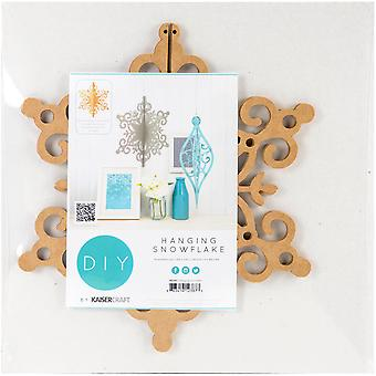 Beyond The Page MDF Hanging Snowflake Ornament-11