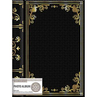 K&Company 3 Up Spiral Memo Photo Album -Black 30705791