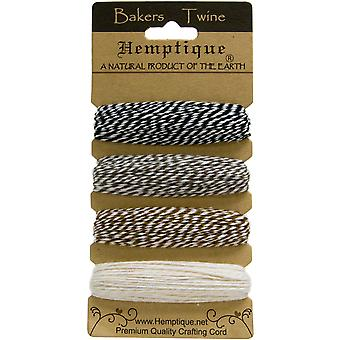 Hemptique Baumwolle Bakers Twine Card Set 2 Ply 410 Feet Pkg Cappuccino Btc2 2941