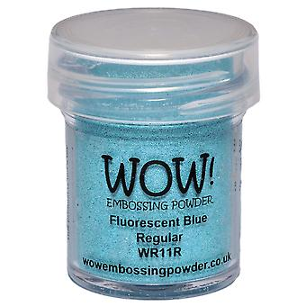 Wow! Embossing Powder 15Ml Fluorescent Blue Wow Wr11r