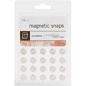 Magnetic Snaps 10 Pkg Small 3.8