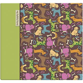 Cute Doggie Post Bound Scrapbook Album 12