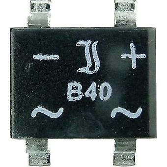 Diotec B40S SMD Bridge Rectifier, 1A Nominal current 1 A U(RRM) 80 V