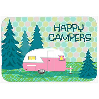 Happy Campers Glamping Trailer Mouse Pad, Hot Pad or Trivet VHA3004MP