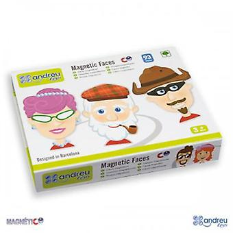 Andreu Toys Faces Magnetic (Speelgoed , Bordspellen , Magie)