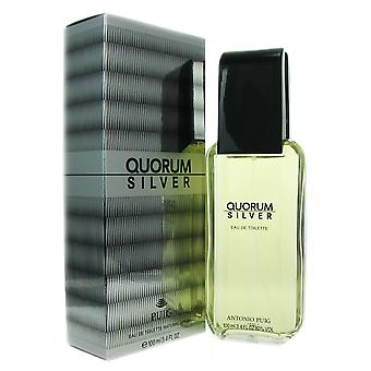 Quorum Silver for Men by Puig 3.4 oz EDT Spray