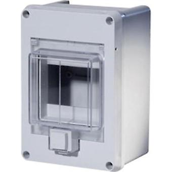 Switchboard cabinet Surface-mount No. of partitions = 4 No. of rows = 1 F-Tronic 7240050
