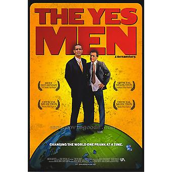 Yes Men Movie Poster drucken (27 x 40)