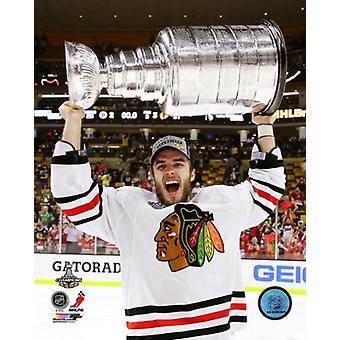 Niklas Hjalmarsson med Stanley Cup spil 6 af 2013 Stanley Cup-finaler Photo Print (8 x 10)