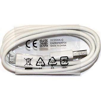 Original LG charger data cable micro USB for LG G2 G3 G4 white